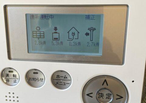 大阪府田淵電機蓄電システムCS-TL70GF施工後その他の写真1
