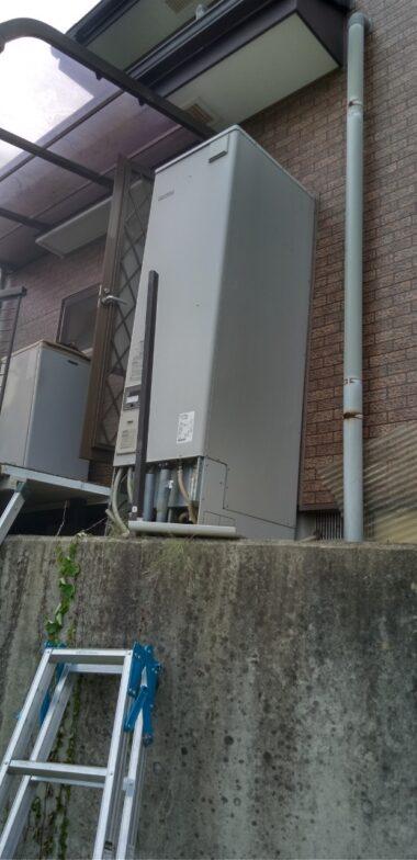大阪府三菱エコキュートSRT-S465A施工前の写真