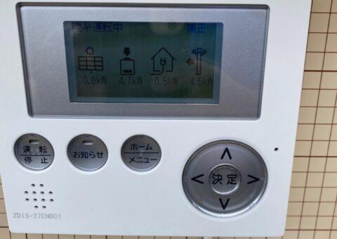 兵庫県田淵電機蓄電システムEIBS7CS-TL70-GF施工後その他の写真2