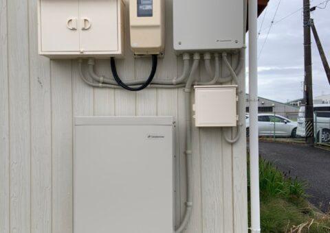 和歌山県Canadian Solar蓄電システムCS-TL70GF施工後その他の写真2