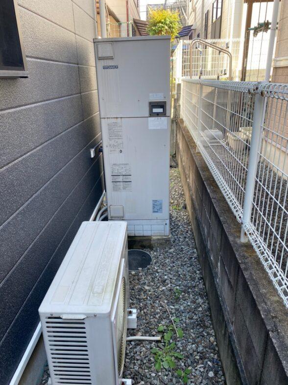 和歌山県三菱エコキュートSRT-S375UA施工前の写真