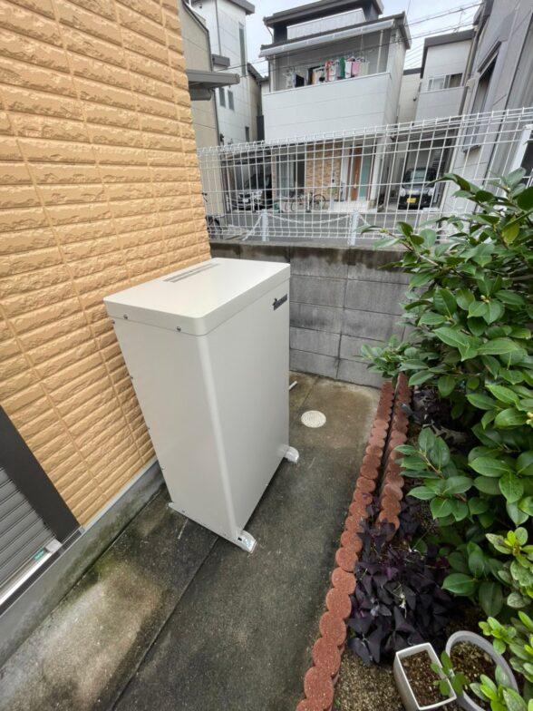 滋賀県Canadian Solar蓄電池システムCS-TL70-GB施工後の写真