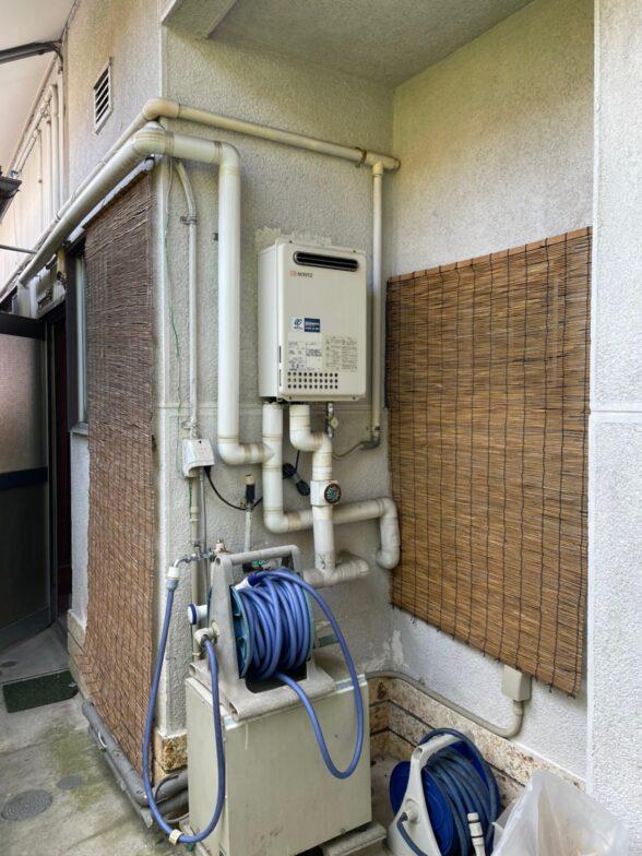 大阪府東芝エコキュートHWH-B376HWA施工前の写真