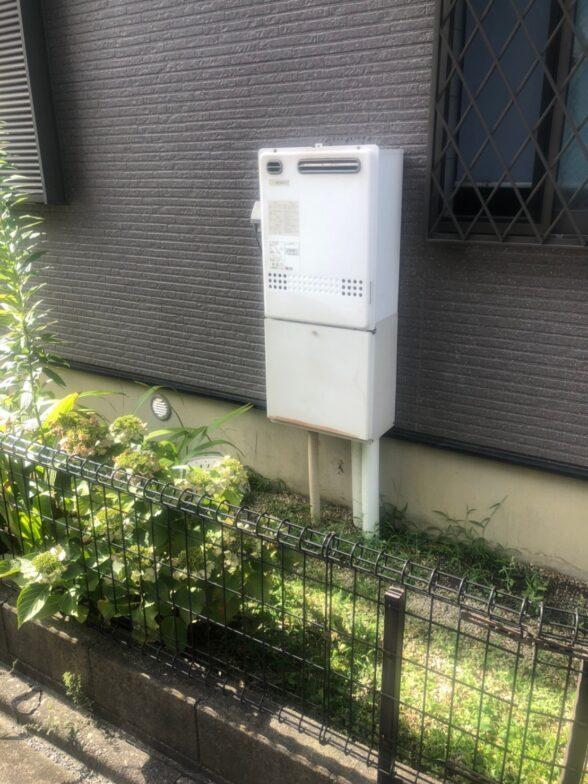 兵庫県東芝エコキュートHWH-B376H施工前の写真