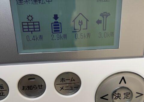 和歌山県Canadian Solar蓄電システムCS-TL70GF施工後その他の写真1