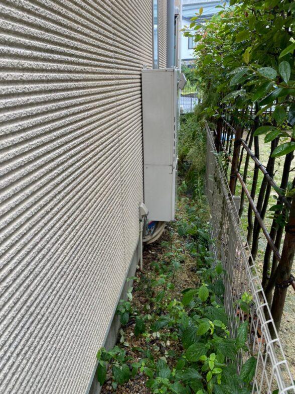 奈良県三菱エコキュートSRT-S375UZ施工前の写真
