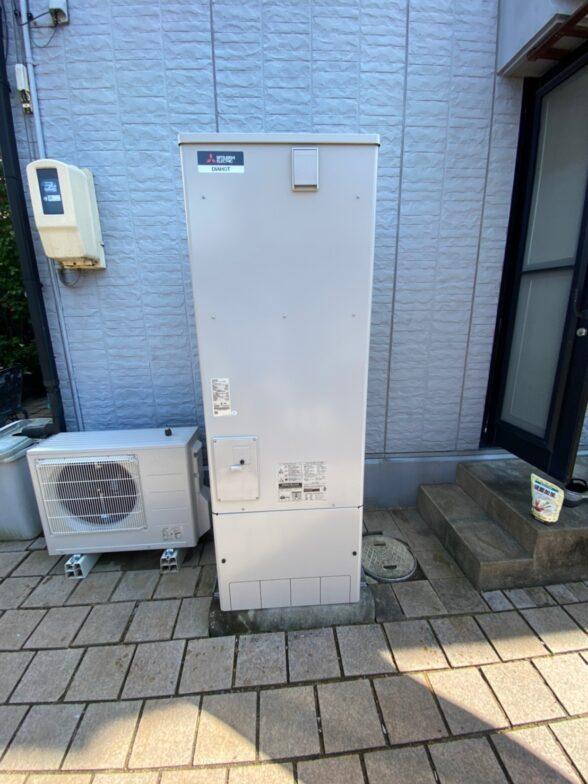 大阪府三菱エコキュートSRT-C375施工後の写真