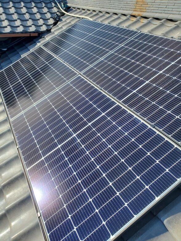 大阪府Canadian Solar太陽光発電システムCS3L-375MS施工後の写真