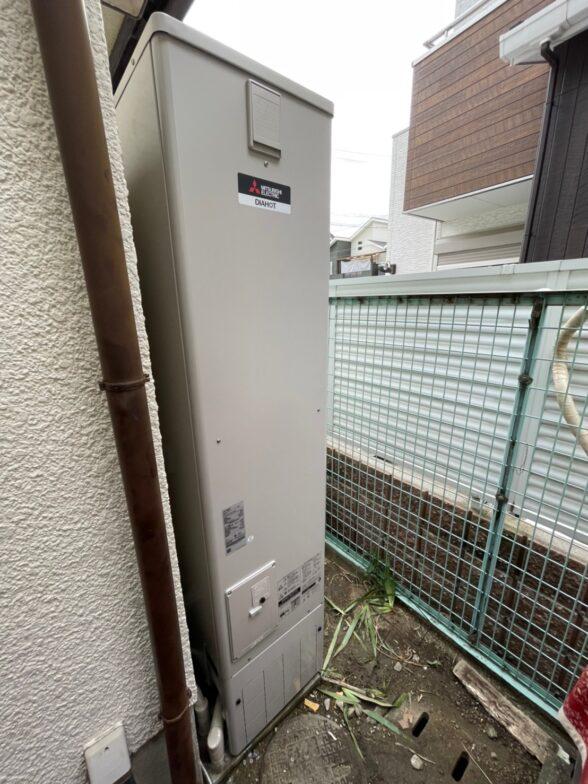 愛知県三菱エコキュートSRT-S375UZ三菱IHクッキングヒーターCS-PT316NHSR施工後の写真