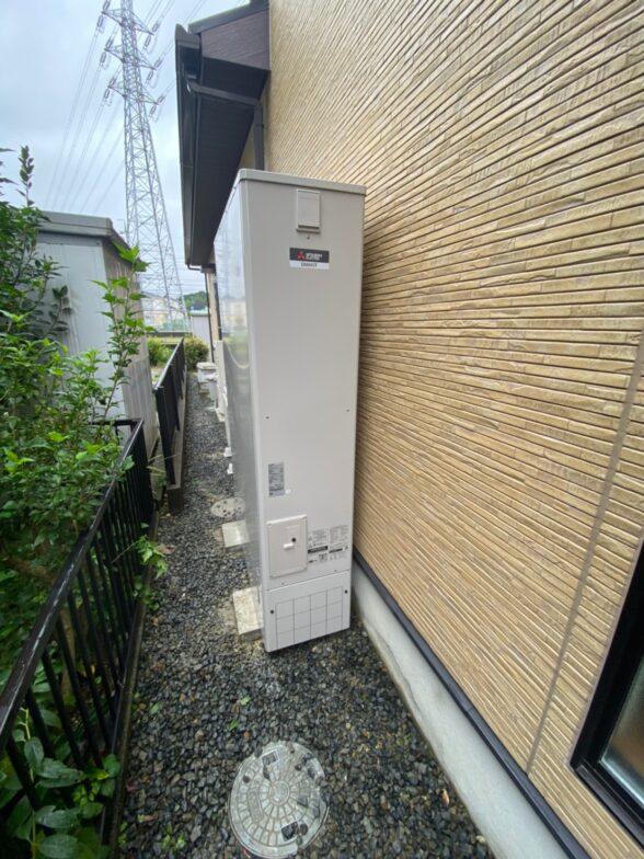 愛知県三菱エコキュートSRT-S375UZ施工後の写真