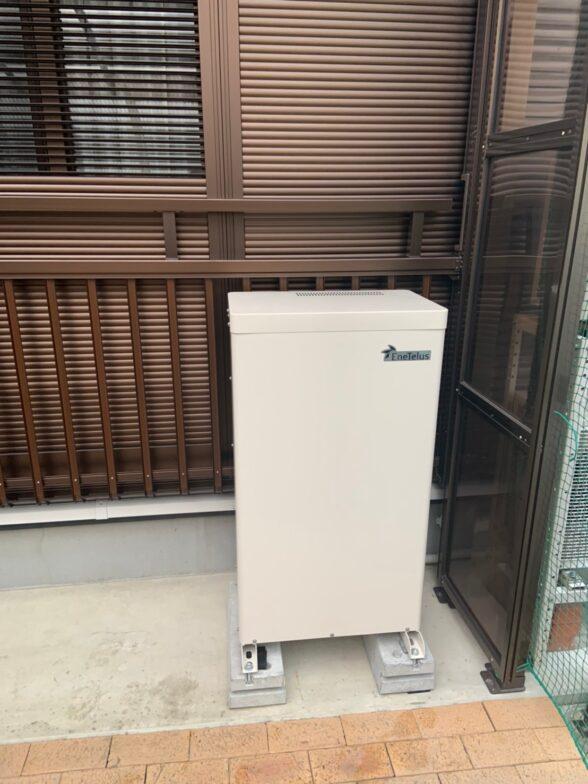 兵庫県田淵電機蓄電システムCS-TL70GF施工後の写真