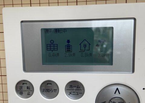 兵庫県田淵電機蓄電システムCS-TL70GF施工後その他の写真1