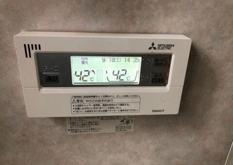 和歌山県三菱エコキュートSRT-S375UZ施工後その他の写真1