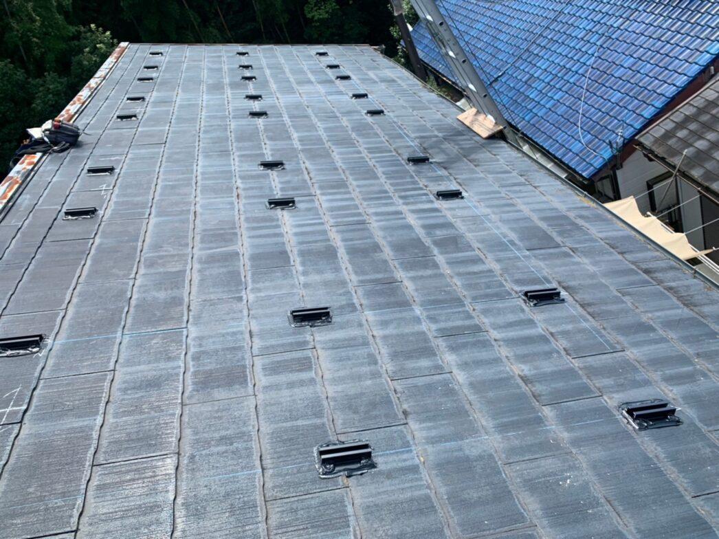 大阪府Canadian Solar太陽光発電システムCS3L-375MS施工前の写真