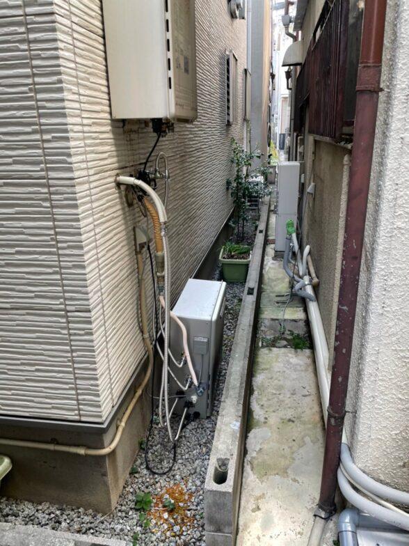 大阪府三菱エコキュートSRT-S435UZ三菱IHクッキングヒータ-CS-PT316NHSR施工前の写真