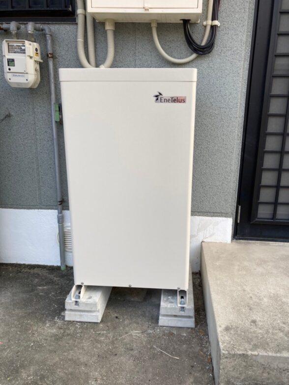 大阪府Canadian Solar蓄電システムCS-TL70GF施工後の写真