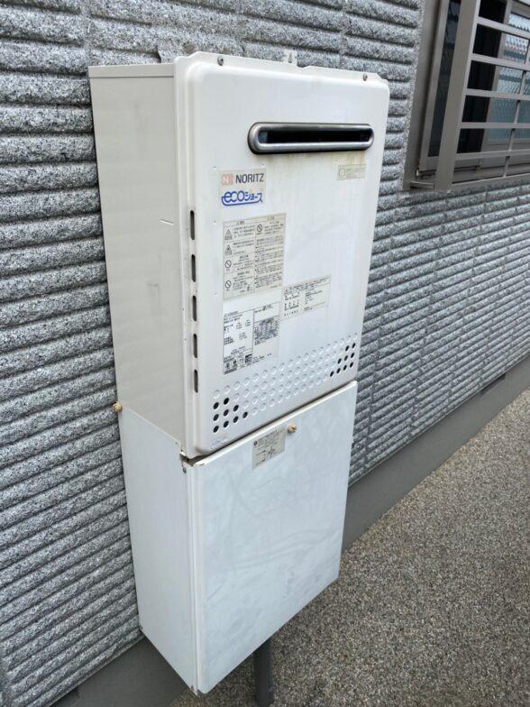 兵庫県東芝エコキュートHWHB376H施工前の写真
