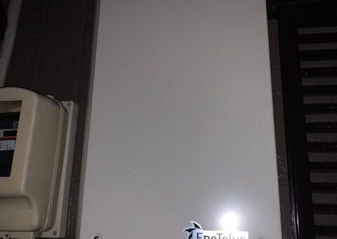 大阪府Canadian Solar蓄電システムCS-TL70-GF施工後その他の写真2