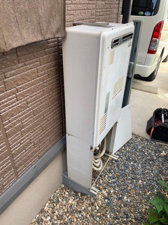 兵庫県東芝エコキュートHWH-B376HA施工前の写真