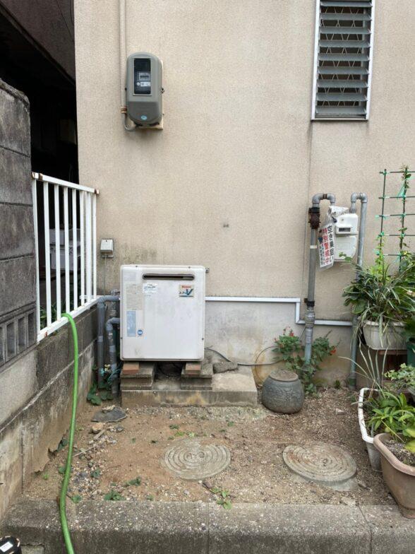 愛知県東芝エコキュートHWH-B376HA施工前の写真