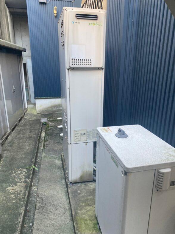 和歌山県東芝エコキュートHWH-B466H施工前の写真