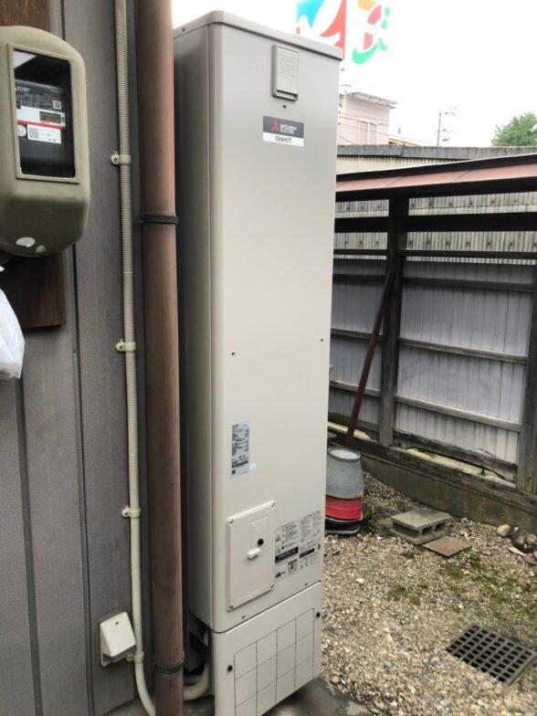 岐阜県三菱エコキュートSRT-S375UZ施工後の写真
