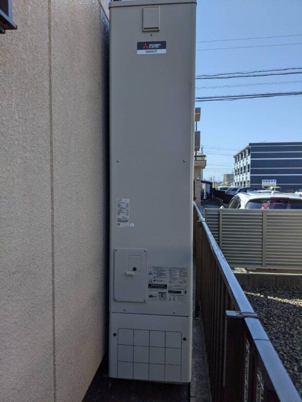 滋賀県三菱エコキュートSRT-S375UZ施工後の写真