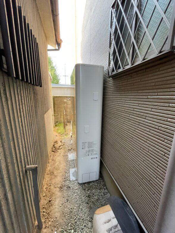 奈良県東芝エコキュートHWH-B375HW三菱IHクッキングヒーターCS-G321M施工後の写真
