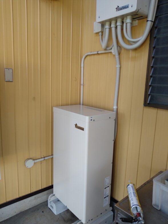三重県Canadian Solar蓄電システムCS-TL70-GF施工後の写真