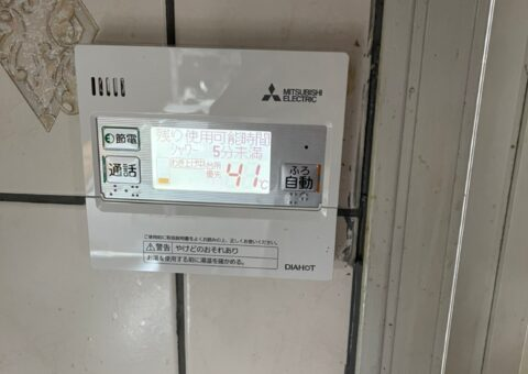 大阪府三菱エコキュートSRT-S375UA三菱IHクッキングヒーターCS-G321M施工後その他の写真2