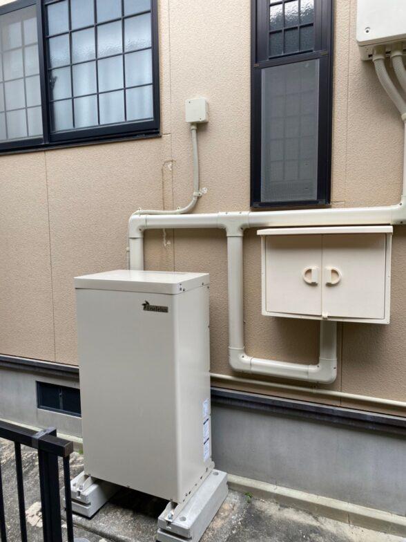 奈良県Canadian Solar蓄電システムCS-TL70GF施工後の写真