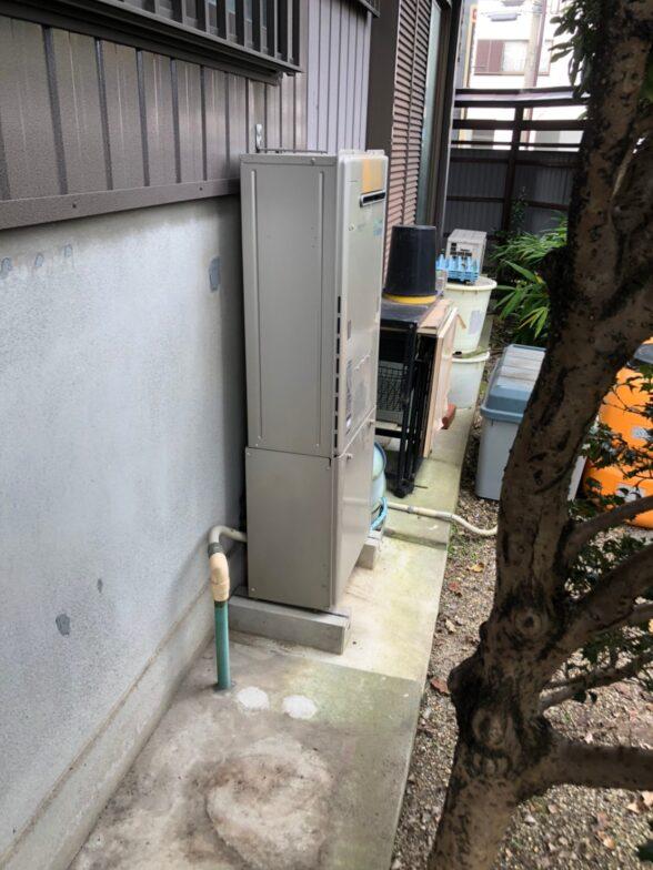岐阜県三菱エコキュートSRT-S375UZ施工前の写真