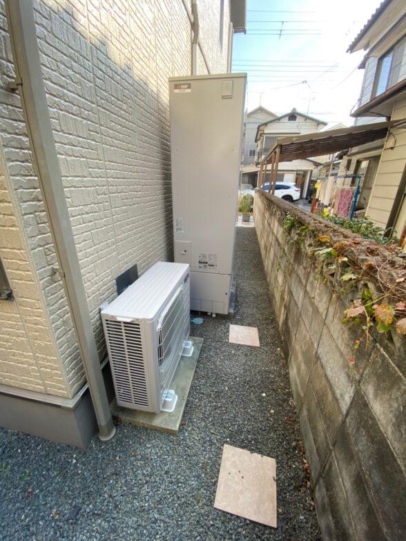 大阪府三菱エコキュートSRT-S465A施工後の写真